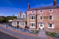 The Arden Hotel - stay here on our 'From a castle and the Cotswolds' bicycle vacation