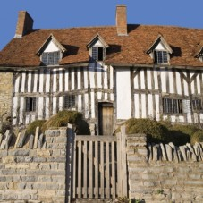 The house where Shakespeare was born - Shakespeare's Way 7 night cycling holiday