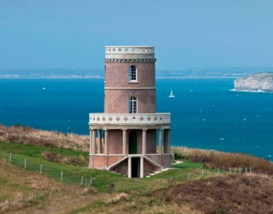 Clavel Tower, Kimmeridge Bay, one spot on The Carter Company new cycling and walking holiday, 'Enid Blyton's Dorset'