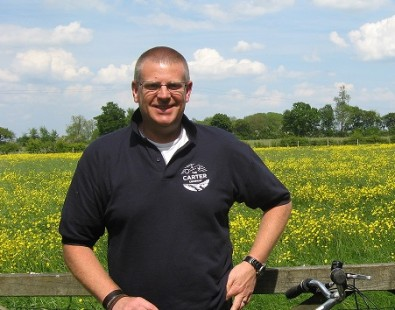 Rob, pictured here at our office in Aston Clinton, is one of our hosts on our luxury Cotswolds and Thames walking and cycling holidays