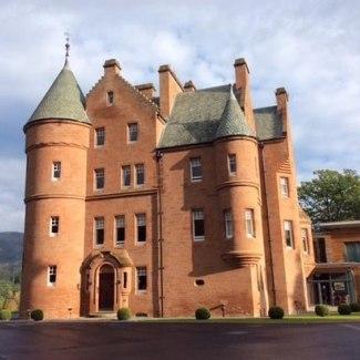 Fonab Castle. Pitlochry
