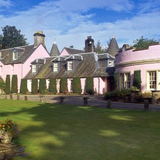 The Roman Camp Hotel in Callander, which features on our luxury 'Whistle-stop lochs and glens' cycling holiday