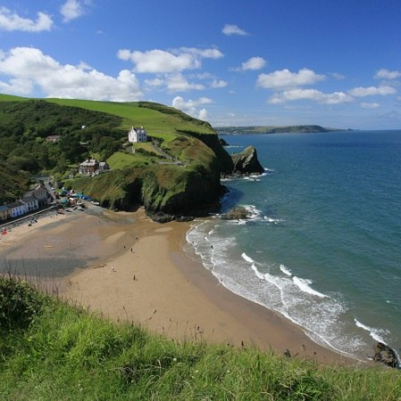 The Ceredigion Coast Path, offered as a walking holiday with The Carter Company