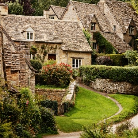The charming town of Bibury on our 'Quintessential England' cycling holiday
