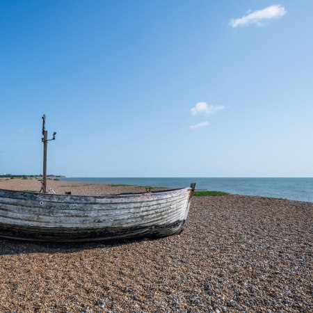Enjoy the beaches and sandy heaths of coastal Suffolk on this gentle walking tour