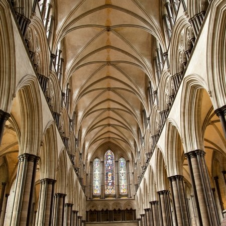 Imposing cathedral ceiling - discover this and more on our Really Rather Special cycling holiday