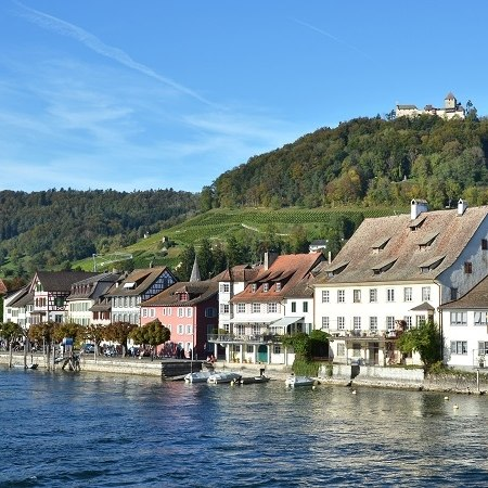 A view along the edge of Lake Constance