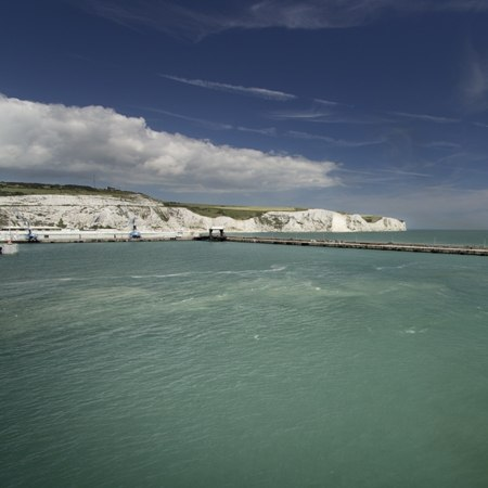 The stunning Kent coastline, seen en route on this Carter Company bike trip