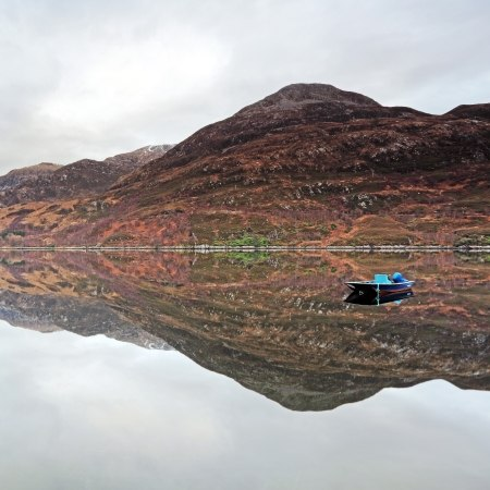 Loch Leven, which features on our 'Scotland's grand tour' cycling holiday