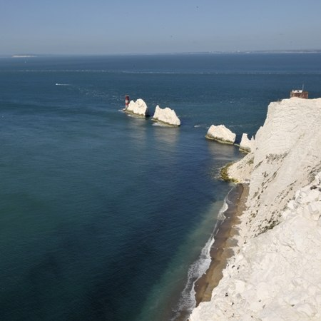 Dramatic cliffs and coastline - cycling holiday in Dorset, the New Forest and Isle of Wight