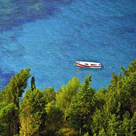 Cycling holiday around Paleokastritsa in Corfu