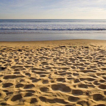 Sandy beaches on our relaxed bicycle tour of Devon & Cornwall