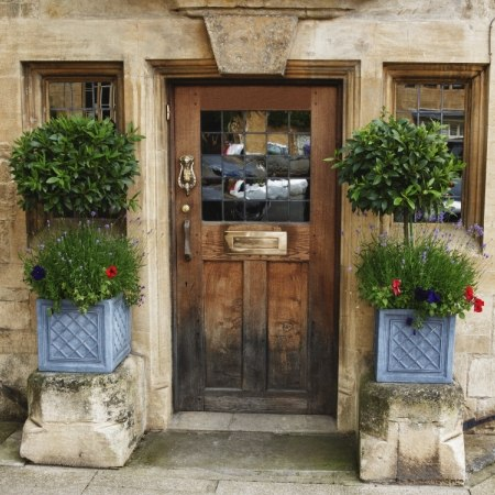 Bibury, one of the towns on our cycling holiday in the Cotswolds