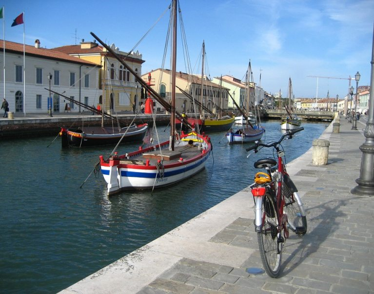 Discover Italy on our gentle cycling holiday with Cesenatico a highlight