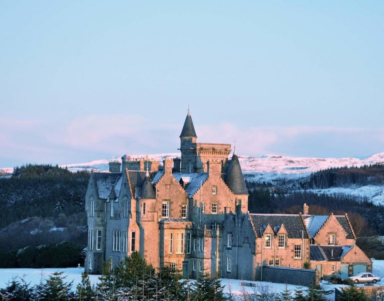 Glengorm Castle on the Isle of Mull