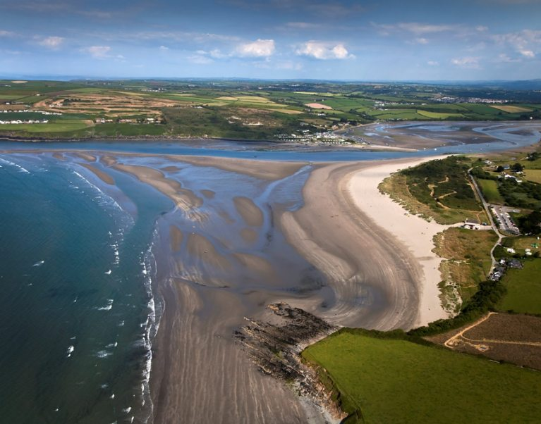 Poppit Sands, Wales, photo courtesy of VisitWales
